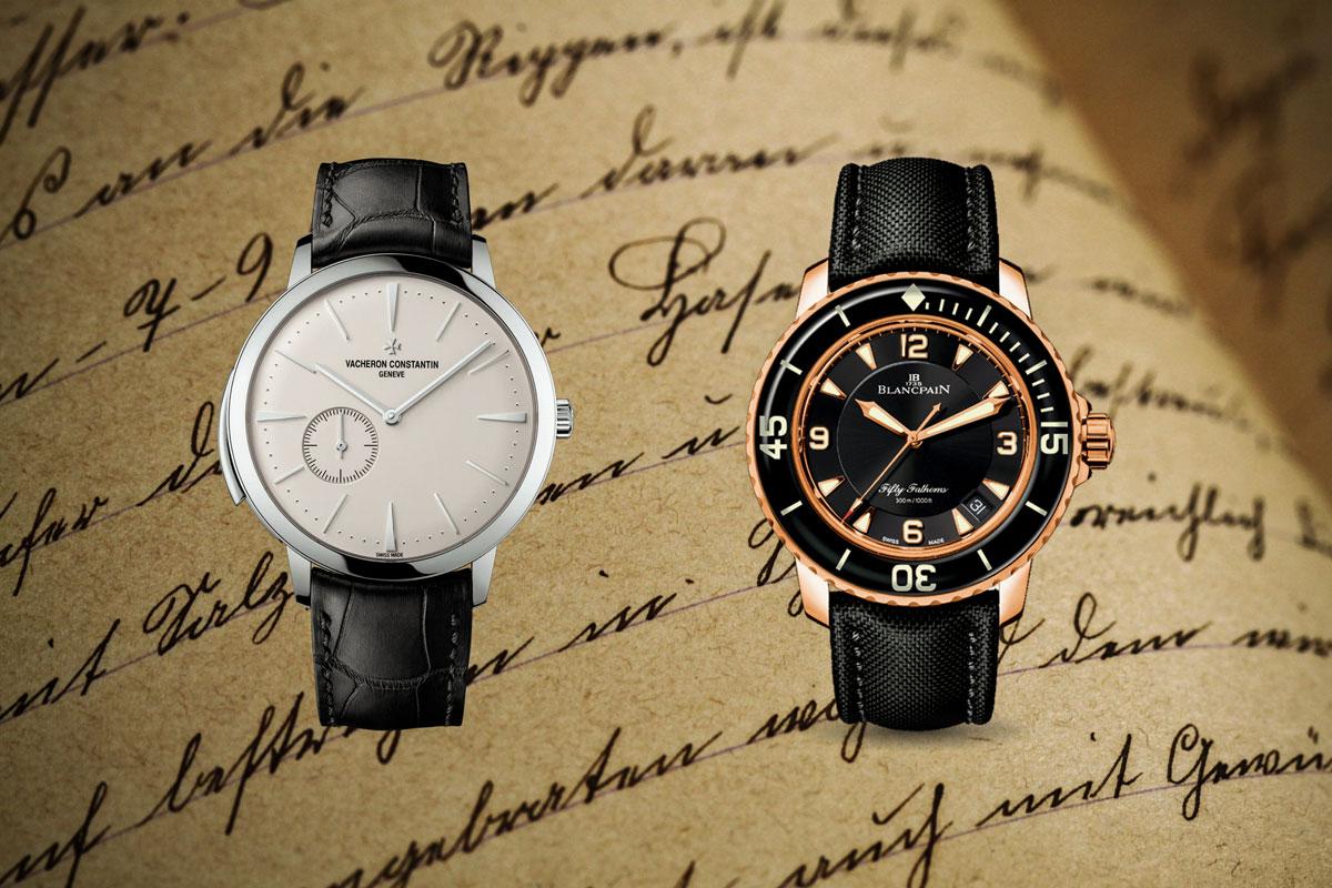 marchi più antichi di orologeria
